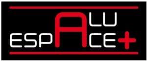 logo alu espace + logo alu espace plus, menuiser aluminium, alu, martinique, fabrication, paracyclonique, pas chere